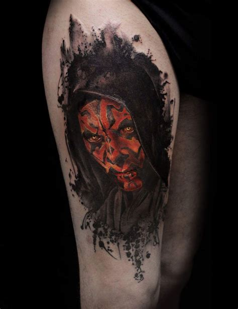 war tattoo darth maul mirco is dead cioni tattoos