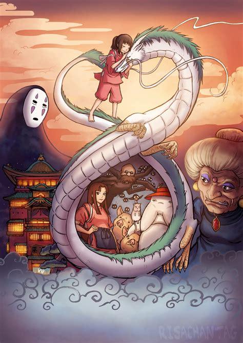 el viaje de zoe generaci 243 n ghibli 10 quot fan art quot de el viaje de chihiro que no olvidar 225 s