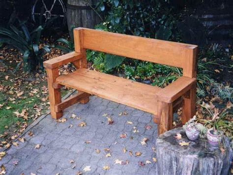 easy to build benches wooden bench homemade google search stomp the yard