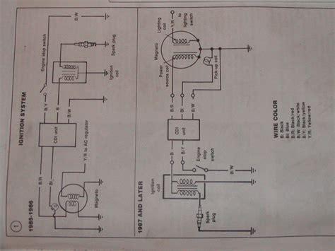 yamaha blaster stator wiring diagram wiring diagram