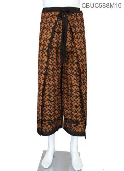 Rok Sogan Kawung Svj 4 celana lilit motif sogan lasem bawahan rok murah batikunik