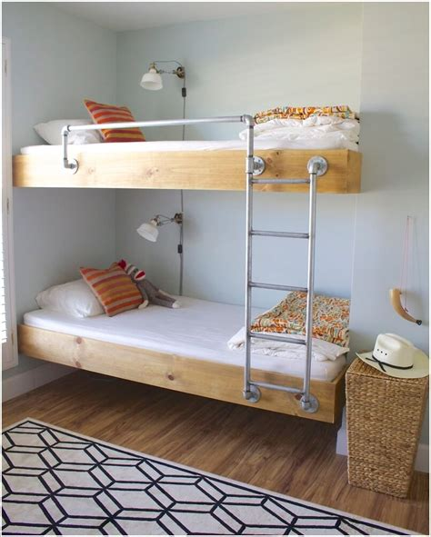 homemade bunk beds 10 cool diy bunk bed designs for kids