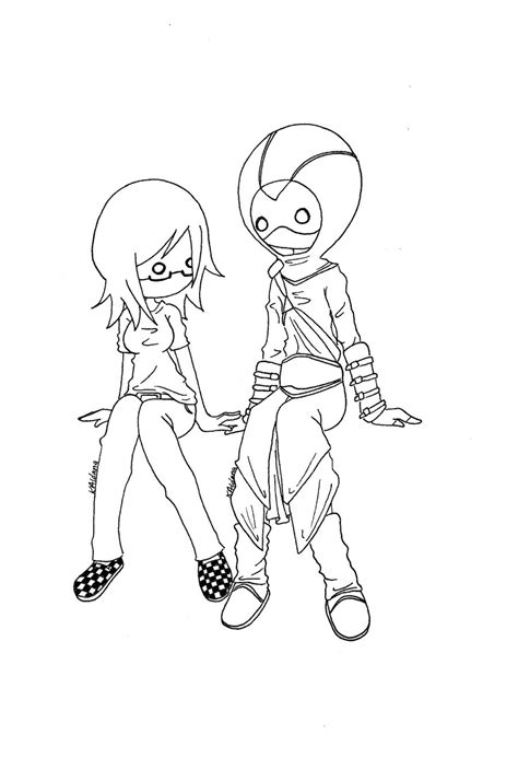coloring pages emo love emo couple coloring pages coloring pages