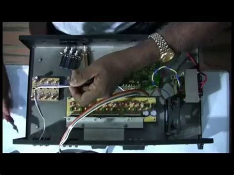 home theater amplifier assembling youtube