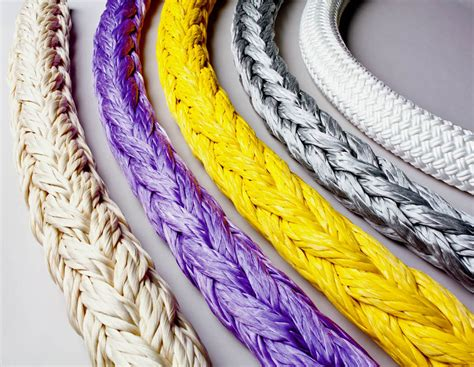 colored rope bishop lifting products synthetic rope