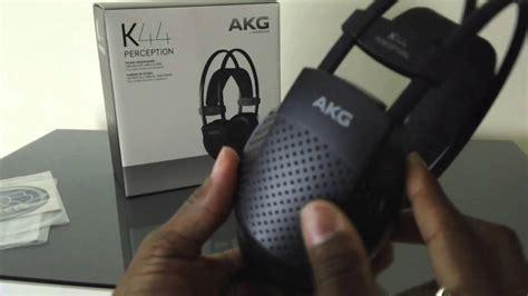 Headphone Akg K44 akg k44 perception headphones unboxing and review