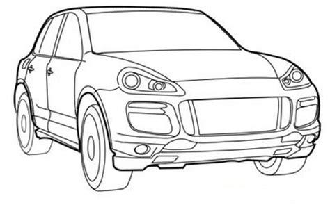 Coloriage Voiture Alfa Romeo Coloriage De Porsche Cayenne L