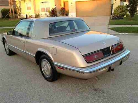 kelley blue book classic cars 1992 buick riviera parental controls service manual 1991 buick riviera 3 8 liter v6 youtube find used 1991 buick riviera luxury