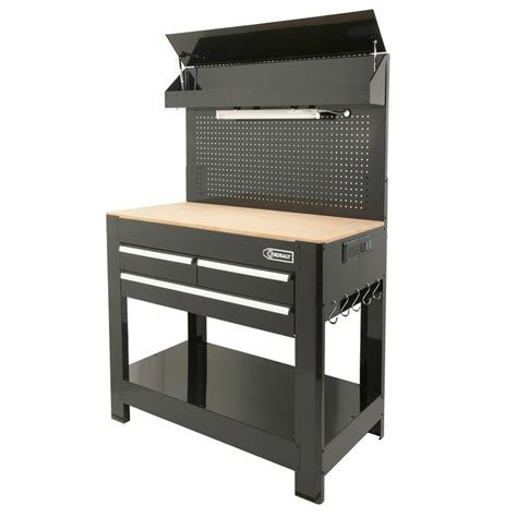 Kobalt 3 Drawer Workbench by Kobalt 174 Heavy Duty 3 Drawer Work Bench Garage Storage