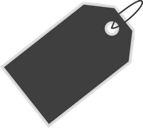 tag clipart immagine vettoriale gratis tag bagagli etichetta vuoto