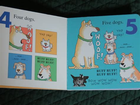 Doggies A Counting And Barking Book By Boyntonbuku Import boynton inside of a