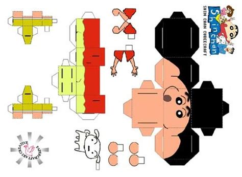Papercraft Anime Templates - image detail for anime papercraft crayon shin chan