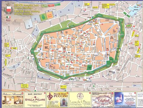 Galerry lucca italy map