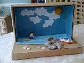 shoebox diorama