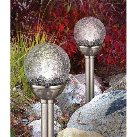 6 Crackle Sphere Solar Lights 216044 Solar Outdoor Solar Sphere Lights