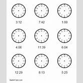 Without Hands Together With Printable Clock Face Without Hands ...
