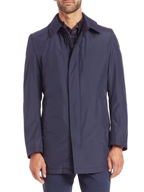 Jacket Coat Parka Strellson Original lyst strellson lightweight jacket in blue for