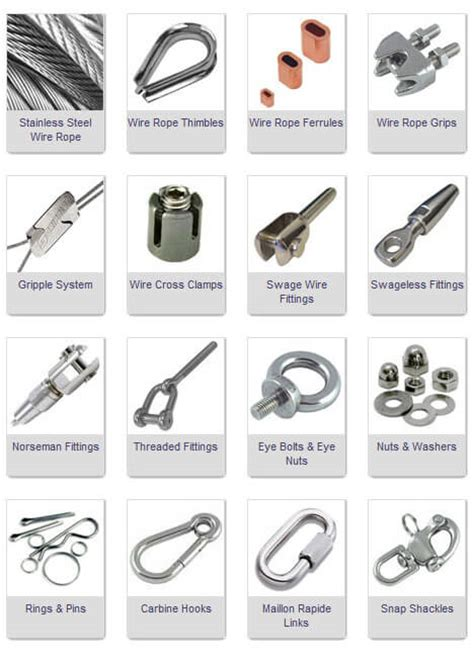 Cable Trellis System Rigging Rigging Fittings Amp Terminals Marine Stage