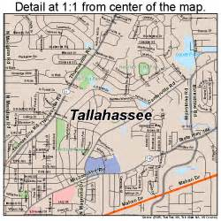 florida map tallahassee tallahassee florida map 1270600