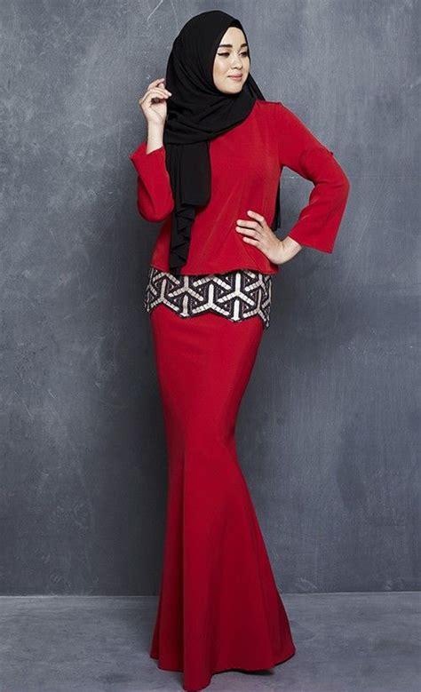 Baju Wanita Fashion Cantik Color Pink T5417 kenangan modern kurung with embroidered lace in raya