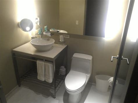 bathroom times square marvelous suite has 2 bathrooms picture of w new york