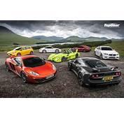 Cars Top Gear McLaren MP4 12C Lotus Exige S