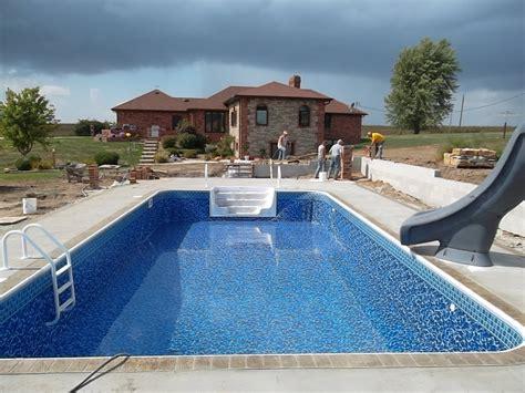 backyard inground pools inground pool builders