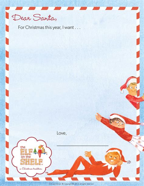 Santa On The Shelf Letter by 1000 Images About Printables Products On The On The Shelf
