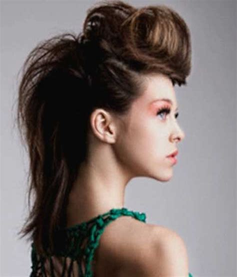 hairstyles for long hair rock chick rockabilly style hair for ladies hairstyles haircuts