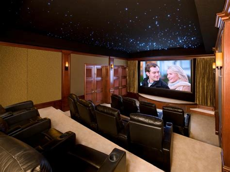Home Theater High End 13 High End Home Theater Designs Hgtv