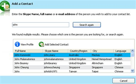 How To Find Peoples Skype Names Skype