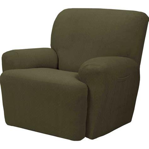 recliner slipcover walmart maytex cobblestone polyester spandex recliner slipcover