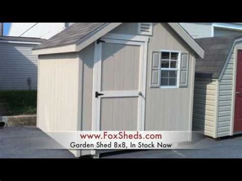 garden shed   foxs country sheds youtube
