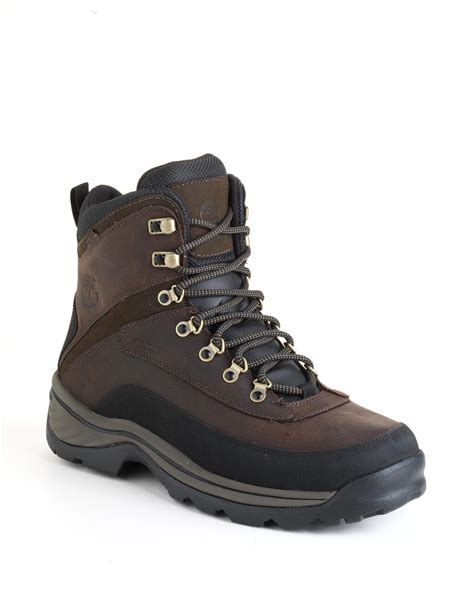 timberland hiking boots timberland white ledge waterproof hiking boots in brown