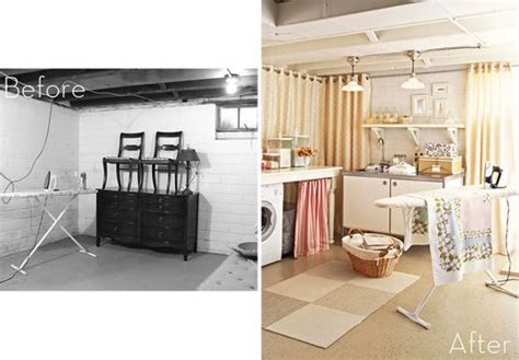 basement laundry space make laundry room ideas