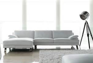 Leather Sectional Sofas With Chaise Lounge Sofas Giano White Leather Chaise Lounge Sofa Sofa World