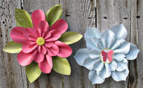 To Make Paper Flowers - lovely paper flowers allfreepapercrafts