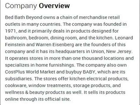 bed bath and beyond corporate address bed bath and beyond springfield pa