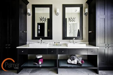 black bathroom cabinet ideas vanity ideas contemporary bathroom palmer todd