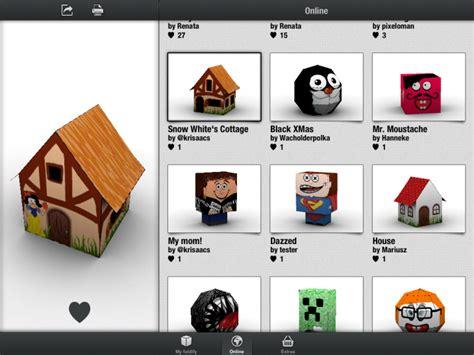 Papercraft App - foldify a clever papercraft app for
