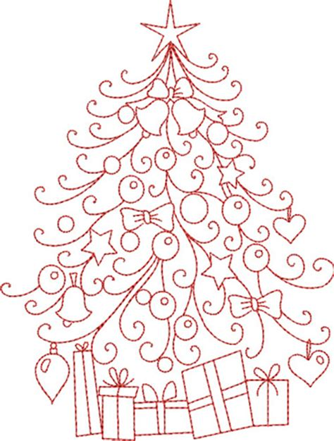 christmas tree hand embroidery pattern rhinestone beagle free christmas embroidery patterns