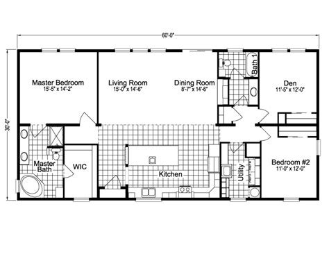 palm harbor floor plans malibu tdt3609c home floor plan manufactured and or