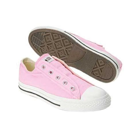 Sepati Converse Slip On Pink pink slip on converse converse baby pink