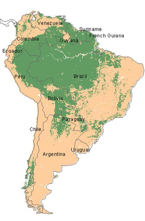 south america deforestation map deforestation in brazil