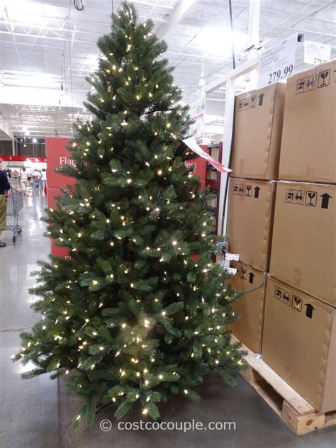costco xmas trees ge 7 5 prelit led tree