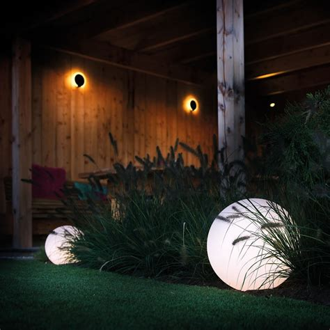 Round 40 Remote Led Garden Ball Light Multifunction Decorative Garden Lights
