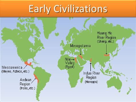world map river valley civilizations patterns of early civilization