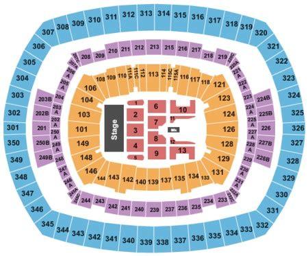 metlife stadium floor plan metlife stadium tickets metlife stadium in east