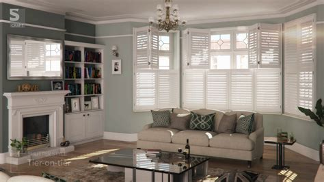 living room shutters living room plantation shutters from s craft youtube