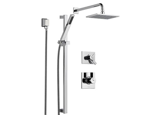 Delta Vero Shower by Vero Shower Faucet With Handshower And Shower Kit Faucets Showers Doraco Noiseux